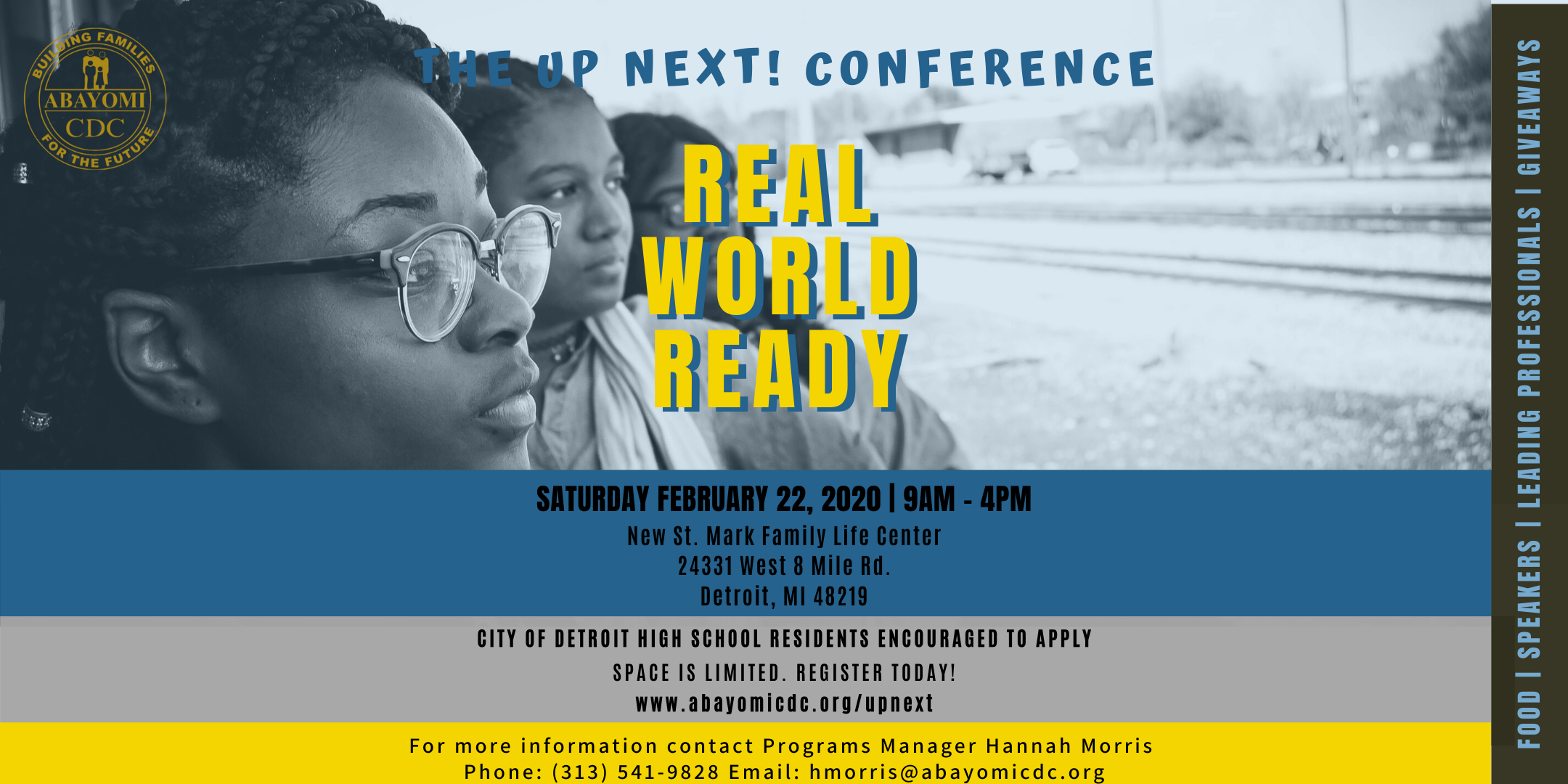 real world ready youth conference